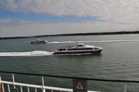 Fähre zur Isle of Wight über die Meerenge Solent