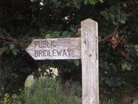 Postbridge, Dartmoor, Wanderweg