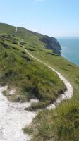 Küstenwanderweg im Süden der Isle of Wight