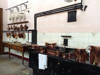 die Küche von Lanhydrock House