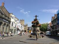 Marktplatz von Wells