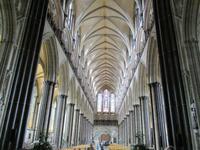 Langhaus Kathedrale Salisbury