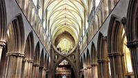 phantastische Kathedrale von Wells