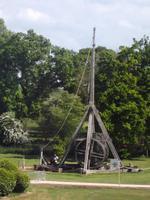 Warwick Castle, großes Trebuchet