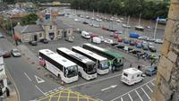 071 Caernarfon, Busparkplatz am Castle