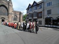 Chester - Prozession des Stadtrates