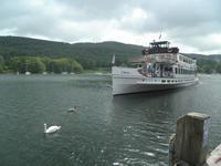 Schiffahrt auf Lake Windermere