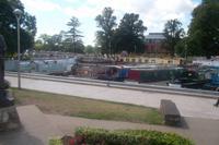 Hausboote im von-Hafen von Stratford