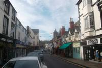 Hauptstraße in Conwy