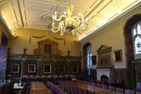054 Oxford, Trinity College, Speisesaal
