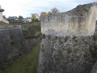 Befestigung am ehemaligen Donjon (Bergfried) in Caen