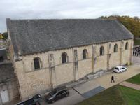 die ältesten Teile der Burg von Caen: Burgkirche