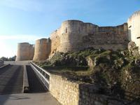Burg Falaise, die Burg Wilhelm des Eroberers