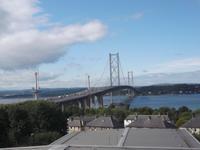Straßenbrücke über den Firth of Forth