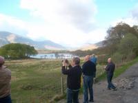 Beim Fotografieren am Loch Awe