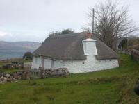 typisches Hebriden-Wohnhaus