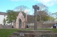 historisches Marktkreuz von Kirkwall