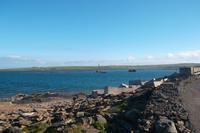 Wracks an der Churchill-Barriere, Orkney-Inseln