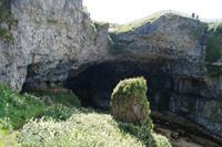 Eingang der Smoo Cave