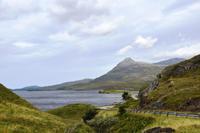 228 Nordwest- Highlands, Loch Assynt und Ardvreck Castle