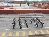 Auf Wiedersehen Schottland mit Duddelsack Musik (1)
