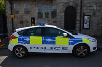 312 Isle of Man,  Castletown, Polizeifahrzeug