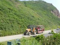 Traktorfahrt auf Sark