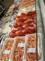 Im Fischmarkt von St. Hellier