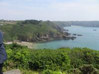 Die Küste von Guernsey