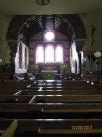 Ein Blick in die Kirche von Sark