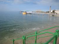 Meerwasserschwimmbad bei Flut in St.Helier