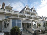 Eingang zum Ommaroo Hotel in St. Helier