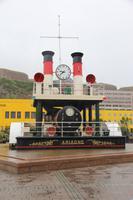 Die älteste, elektrische Dampfuhr der Welt in St. Helier Jersey
