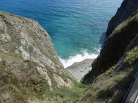 Blick in die Bucht am La Coupee