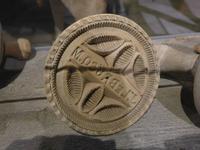 Stempel  für Produktion Jersey-Butter - Jersey Museum