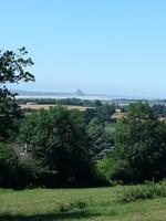 Mont-Saint-Michel aus der Ferne gesucht und gefunden