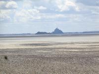Blick auf Mont Michel