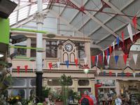 Markthalle in St. Hellier