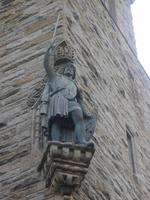 Statue von William Wallace am Wallace Monument
