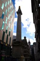 London, City of London, Monument to the Great Fire of London