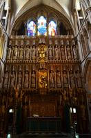 096 London, Southwark Cathedral, Altar mit Ostfenster