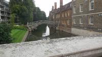 Cambridge: die Mathematiker-Brücke