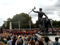 Wachablösung vor dem Buckinghampalast