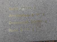 Nullmeridian Angaben zu Breitengrad von Berlin