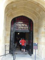 Eingang zu den Crown Jewels