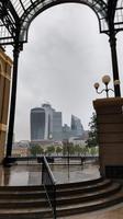 114 London, Blick von der Hayes Galeria zur City