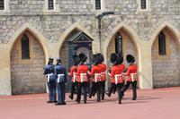 Wachablösung Windsor Castle