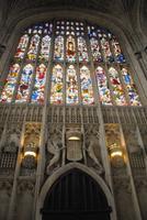Prachtvolle Fenster der Kathedrale von Kings College