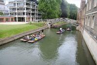 Brücke in Cambridge erstellt ohne einen einzigen Nagel