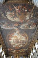 Deckengemälde der Painted Hall